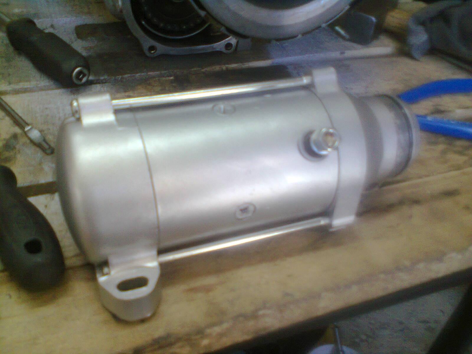 GL1100 starter motor overhaul