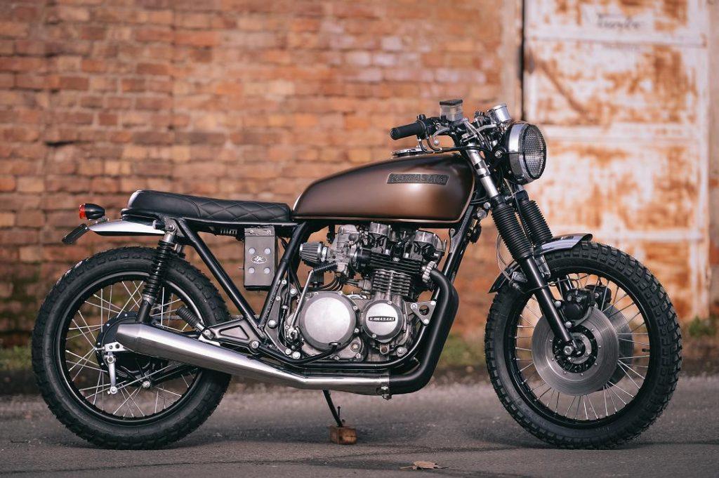 Kawasaki Z650 Scrambler Brat