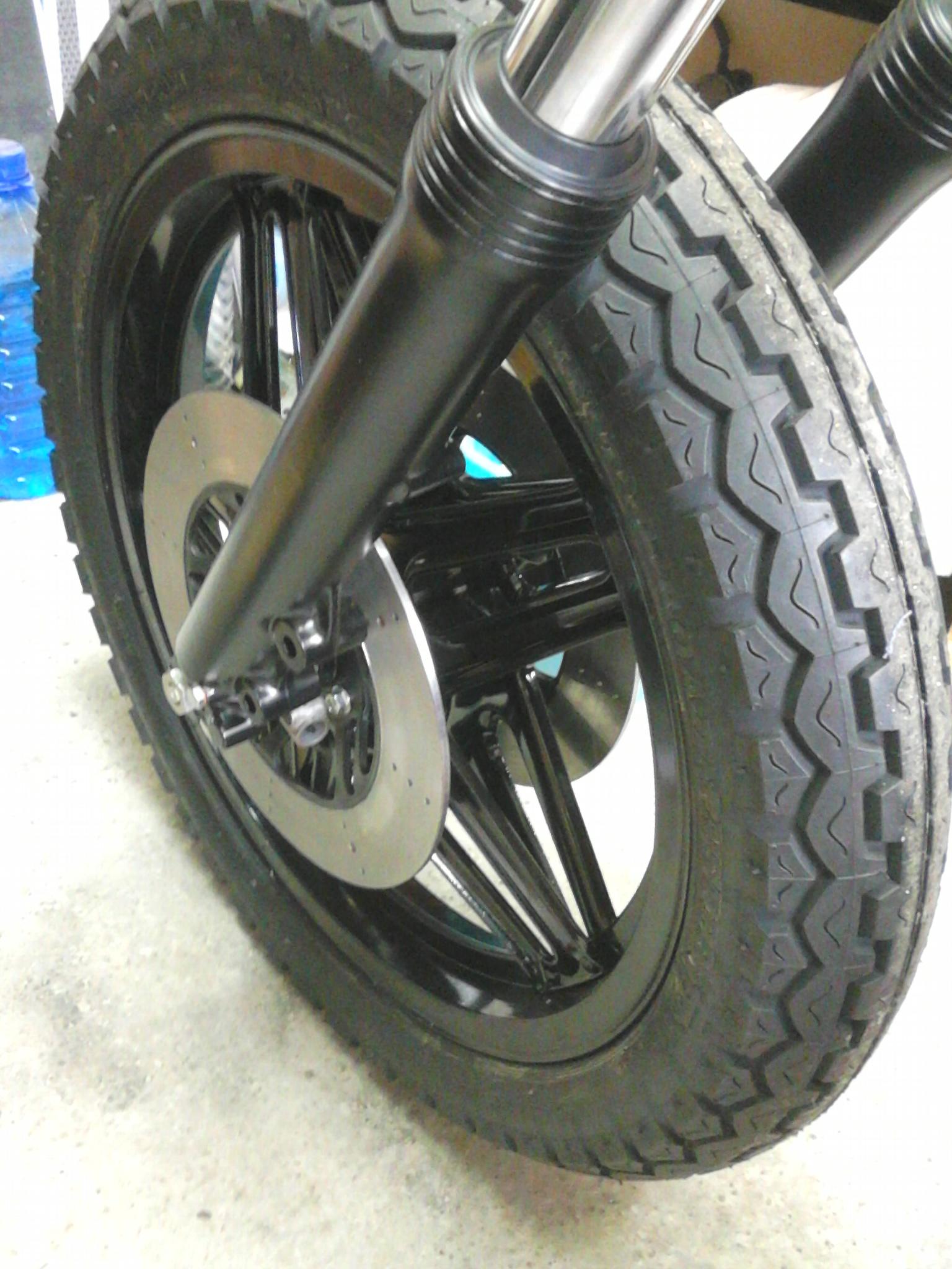 GL1100 on wheels – assembly in progress!