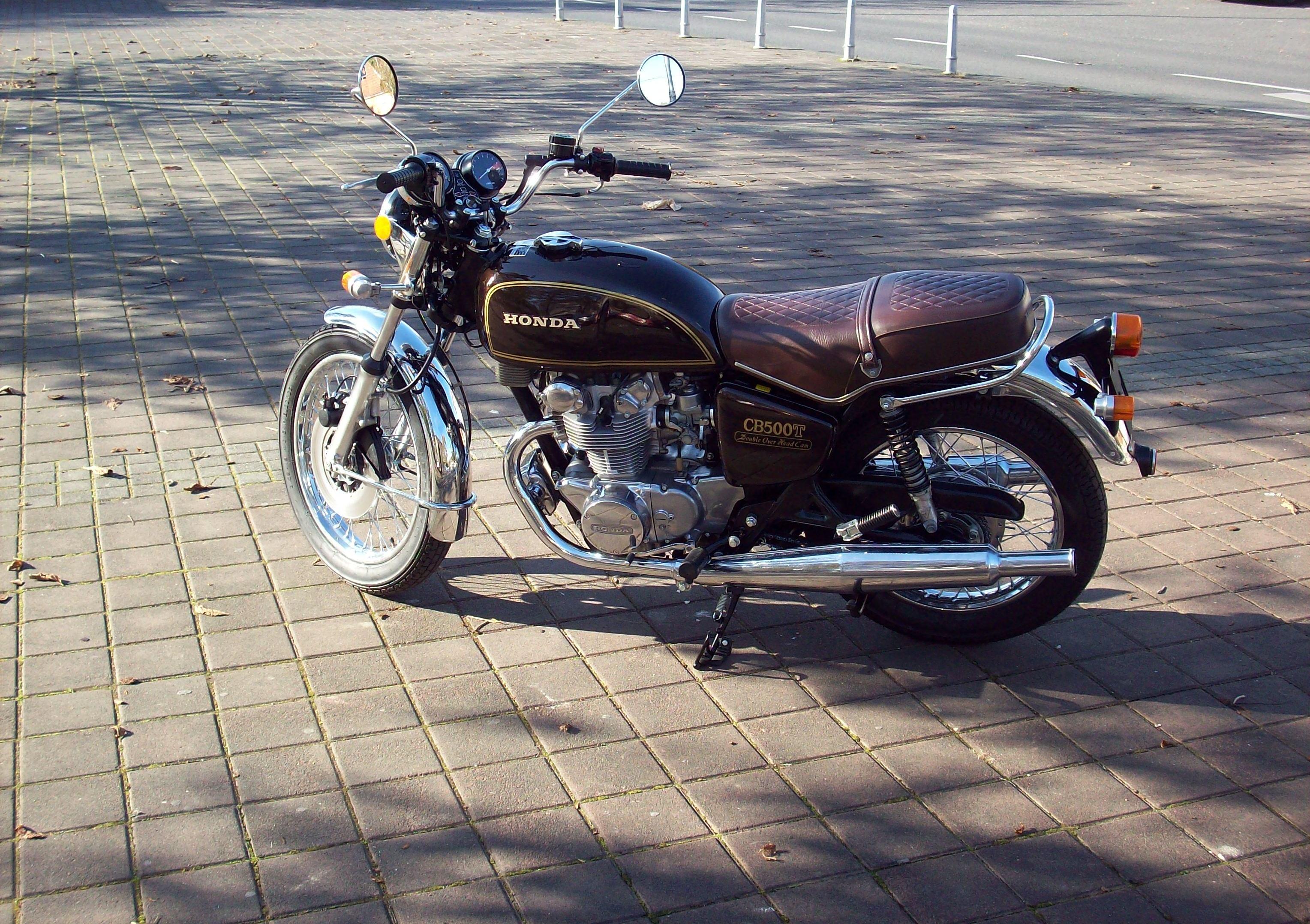 1976 Honda CB500T restored
